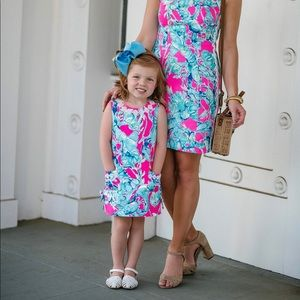 lilly pulitzer like new 3 toddler dress